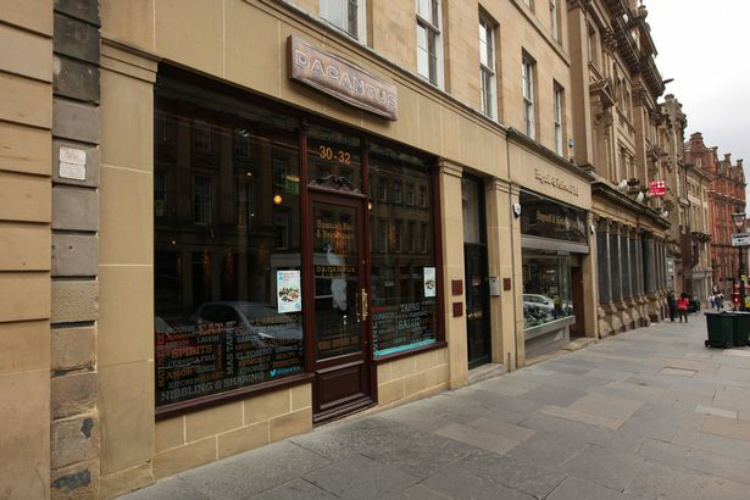 Grey Street, Newcastle, Facade Restoration