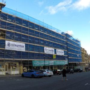 Newcastle Facade Restoration, Grey Street,