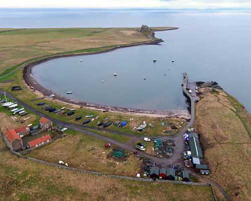Holy Island - Lindisfarne Priory, Church And Residential